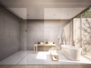 La Suite perfecta para tus vacaciones: Baños de estilo  de S-AART, Minimalista