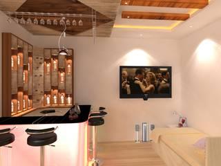 Interior Designing In Hyderabad Modern wine cellar by Palle Interiors Modern