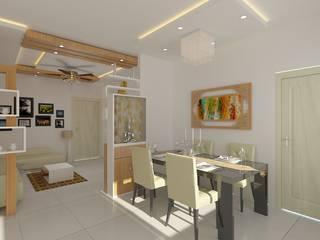 Interior Designing In Hyderabad Modern dining room by Palle Interiors Modern