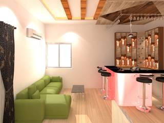 Interior Designing Of Duplex House Modern wine cellar by Palle Interiors Modern