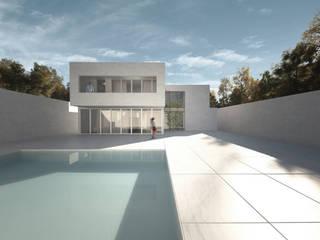 Vivienda Unifamiliar en Ibiza. : Casas unifamilares de estilo  de S-AART, Minimalista