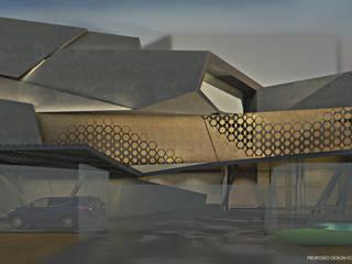 RH21 Modern houses by D A STUDIOS Modern
