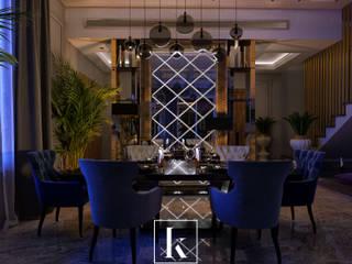 Classic style dining room by Karim Elhalawany Studio Classic
