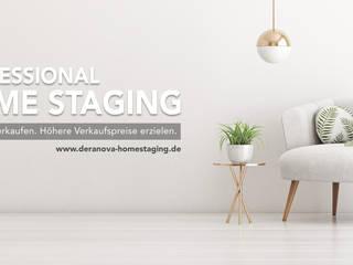 DERANOVA Homestaging Augsburg: modern  von DERANOVA Homestaging,Modern