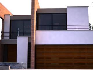 Casa Campestre en Potrerito de Velasco Arquitectura Moderno