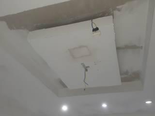 Acabamento em sanca em sala comercial VPF PINTURAS