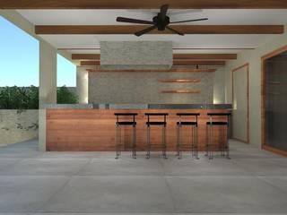 Comedores de estilo moderno de Constructora Sanar spa Moderno