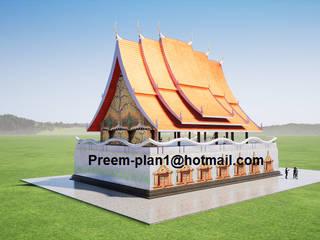 รับเขียนแบบบ้าน&ออกแบบบ้าน Villas Granite Amber/Gold