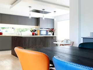 Extension, Old Holywood Road, Belfast BT4 Modern kitchen by Jim Morrison Architects Modern