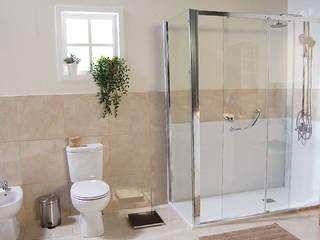 Stannah - Soluções e ajudas de banho Casas de banho modernas por Stannah Moderno