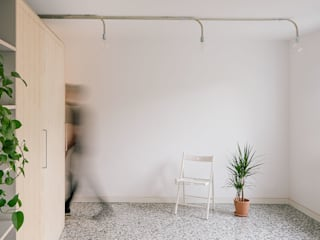 Salas de estilo moderno de MINIMO Moderno