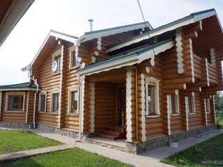 Casas modernas por Архитектор Михаил Кузин Moderno