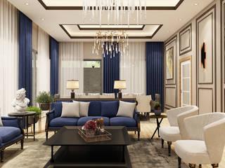 Modern Living Room by MOLEKÜL MİMARLIK Modern