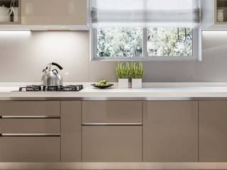 Prestige Ferns Residency Modern Kitchen by De Panache - Interior Architects Modern