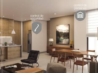 Moderne Schlafzimmer von Integrify Modern