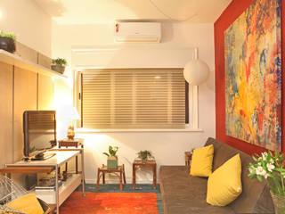 Apartamento - Centro Célia Orlandi por Ato em Arte Salas de estar modernas