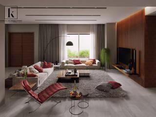 Modern Media Room by Karim Elhalawany Studio Modern