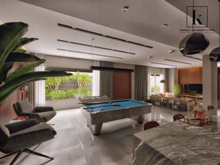 Modern Garage and Shed by Karim Elhalawany Studio Modern