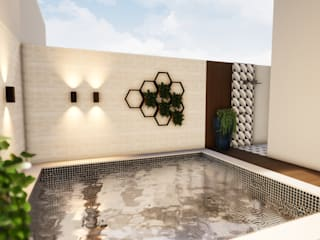 Revisite Garden Pool Ceramic White