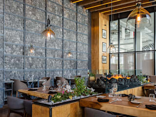 Restaurante El Tapanco Gastronomía de estilo moderno de PASQUINEL Studio Moderno
