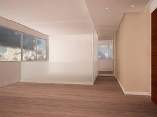 Remodelaci´ón oficina de consultoría de Velasco Arquitectura Moderno