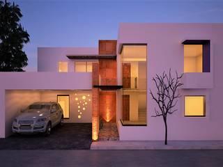 Casa mary: Casas de estilo  por Mixture Arquitectos, Moderno
