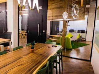 CoWorking Space at Hyderabad Modern offices & stores by Bioform Modern