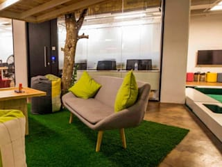 CoWorking Space at Hyderabad Modern office buildings by Bioform Modern