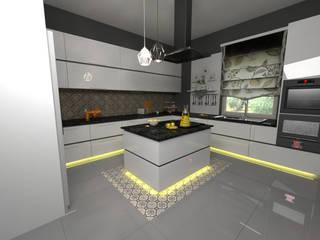 prodak mimarlık mühendislik tic. san. ltd. şti – Mutfak Dolabı Pr.: modern tarz , Modern