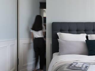 ห้องนอน โดย 成綺空間設計, คลาสสิค