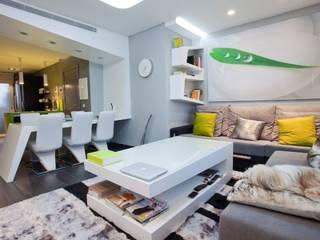 Phòng khách theo Domonova Soluciones Tecnológicas para tu vivienda en Madrid, Hiện đại