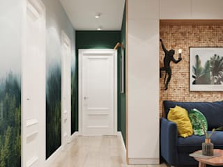 Corridor and hallway by 3D GROUP, Scandinavian