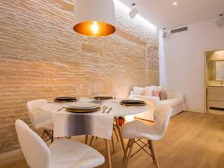 Phòng giải trí phong cách hiện đại bởi Domonova Soluciones Tecnológicas para tu vivienda en Madrid Hiện đại
