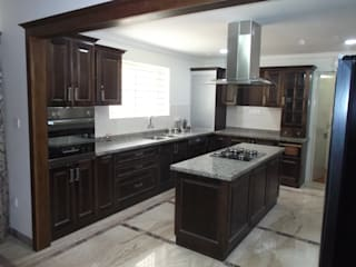 Hoop Pine Interior Concepts Kitchen units Solid Wood Brown