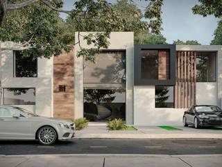 Vista Linda - CDMX Casas minimalistas de HC Arquitecto Minimalista