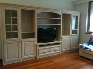 Mobili a Colori Living room Wood Pink