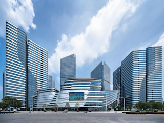 Hong Leong City Center in Suzhou by Aedas Classic style study/office by Architecture by Aedas Classic