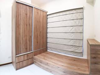 Chambre scandinave par ISQ 質の木系統家具 Scandinave