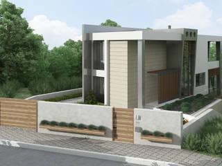 ms mimarlık – Reşadiye Villa Projesi (2018):  tarz Villa, Modern