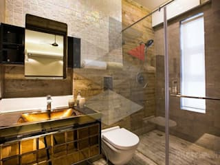 Restrooms should make a statement Modern bathroom by Skketchboard Insol LLP Modern