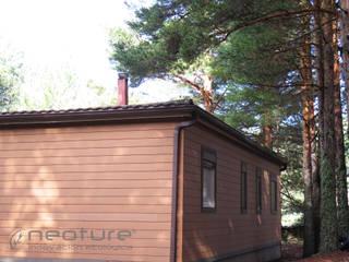 Revestimiento madera tecnológica exterior NeoLack Wood de Neoture Innovación Ecológica Rústico