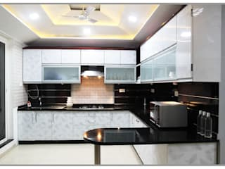 Urban Space, NIBM. Modern kitchen by AARAYISHH Modern