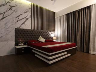 Kumar Sienna, Magarpatta.:  Bedroom by AARAYISHH (Mumbai & Pune),Modern