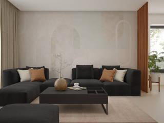 Salas de estilo moderno de Nevi Studio Moderno