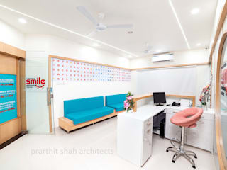 prarthit shah architects Office spaces & stores