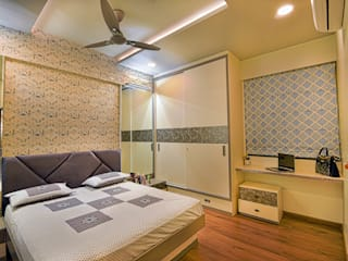 Song of Joy, Kharadi. Modern style bedroom by AARAYISHH Modern