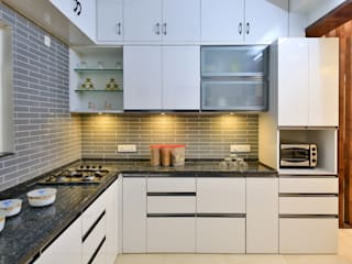 MODULAR KITCHENS by AARAYISHH Modern