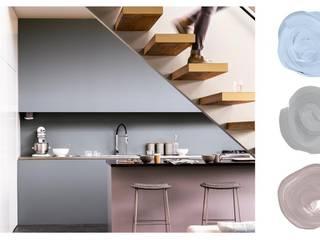 Grey Paint Scheme Ideas Dulux UK Moderne Küchen Grau