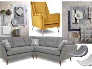 Grey Paint Scheme Ideas Dulux UK Moderne Wohnzimmer Grau