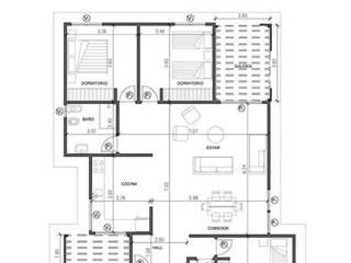 Vivienda 179.84 m2 de LGA CONSTRUCTORA Clásico